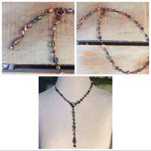 Anthropologie Boho New Beaded Necklace